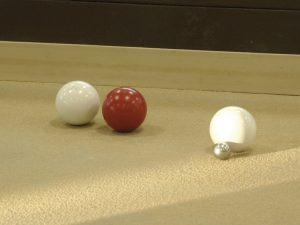White and Red_1 Color_Joe Bocce Balls